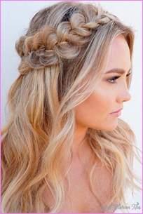 hairstyles half up half fashion tips