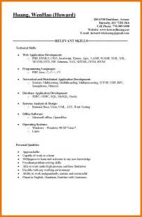 Parts Of Cover Letter by 6 Parts Of A Resume Assistant Cover Letter