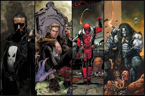 film marvel anti heroes ranking the 10 best comic book anti heroes from marvel and dc