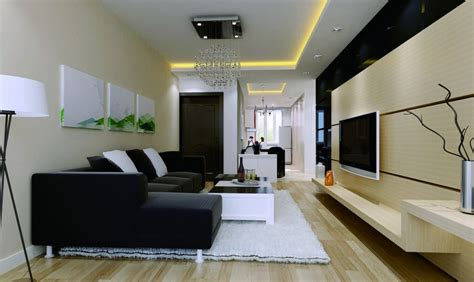 room to amazing of living room wall and decor has modern 4074