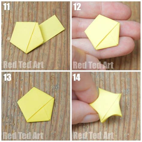 How To Make Lucky Paper - how to make an origami lucky ted s