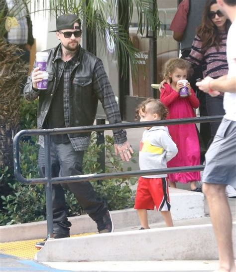 Harlow Madden Pictures   Benji Madden Grabs Coffee with His Family   Zimbio