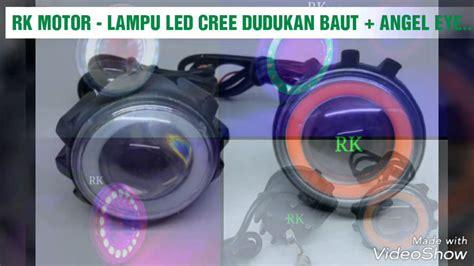 Lu Led Motor Luminos lu led cree outdoor dudukan baut eye luminos