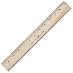 12 inch ruler healty living guide