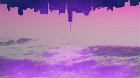 wallpaper  desktop laptop ak city art illust purple