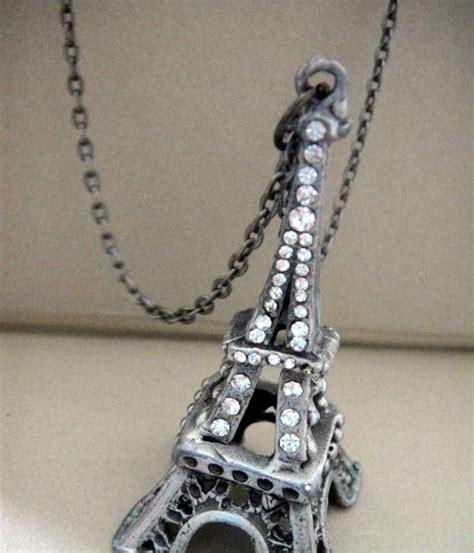Fashion Eiffel Tower Necklace fashion accessorize eiffel tower necklace