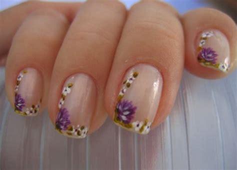 fotos uñas decoradas flores sencillas unhas decoradas com flores 25 fotos para inspirar