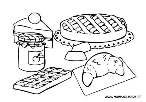 disegni alimenti per bambini cibi da colorare az colorare
