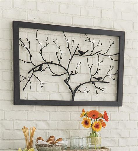 lighted wall decor brighten your room and add luxurious touch lighted