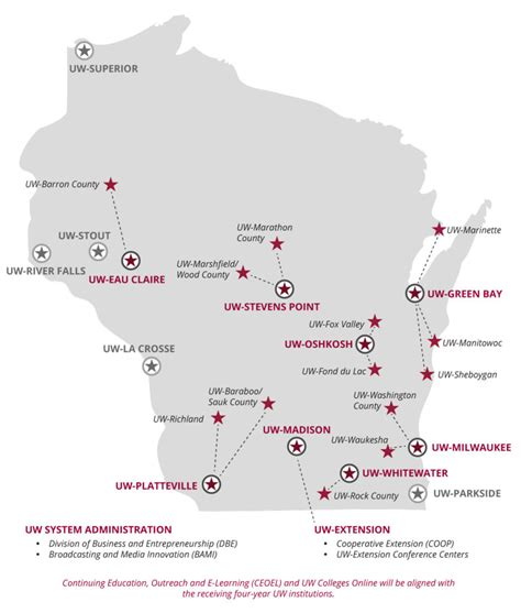 Wisconsin Mba Early Decision by Uw Colleges And Uw Extension Restructuring