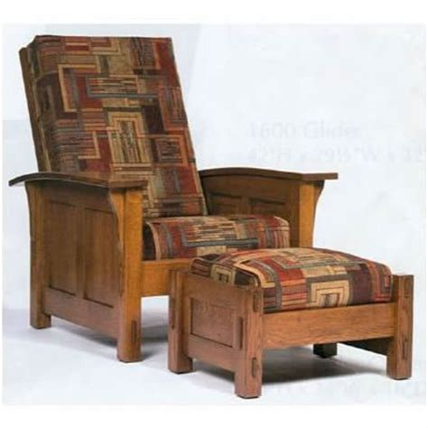 craftsman style recliner 1600 series morris chair i m not so hard to shop for