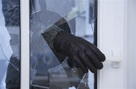 risking burglaries at home by their