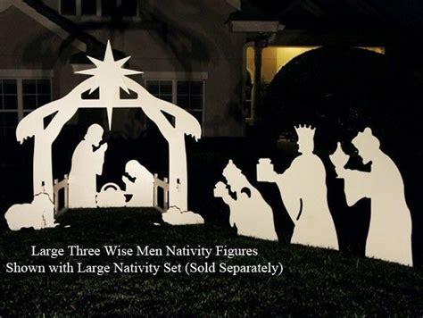Nativity Christmas Yard Art Patterns Nativity Yard Sign Template
