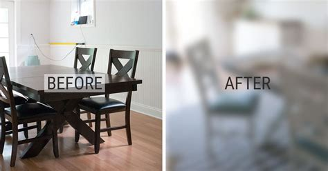 diy chalkboard dining table before and after diy chalk paint dining table and chairs