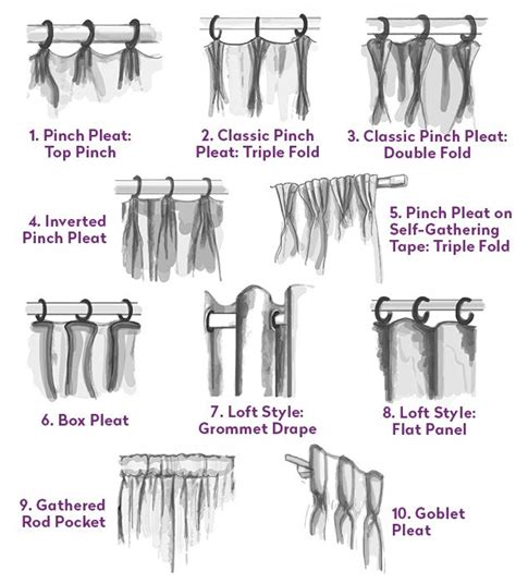 curtains hooks types 25 best ideas about panel curtains on pinterest shades
