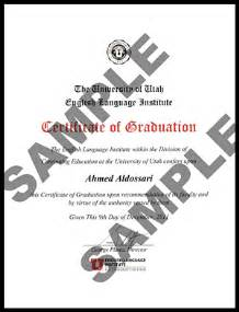 Graduation Certification Letter Sample english language institute graduation requirements continuing