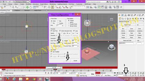 download video tutorial membuat gambar 3d cara membuat animasi 3d bola memantul di 3dsmax 2013