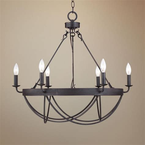 bronze dining room chandelier lyster square 28 quot wide rubbed bronze chandelier
