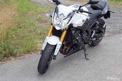 Yamaha 4 Zylinder Motorrad by 4 Zylinder Auf 2 R 228 Dern Yamaha Fz8 Abs Test Autophorie De
