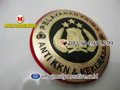 Nomor Rumah Akrilik 2 Lapis pin korpri eksklusif lencana korpri eksklusif pesan