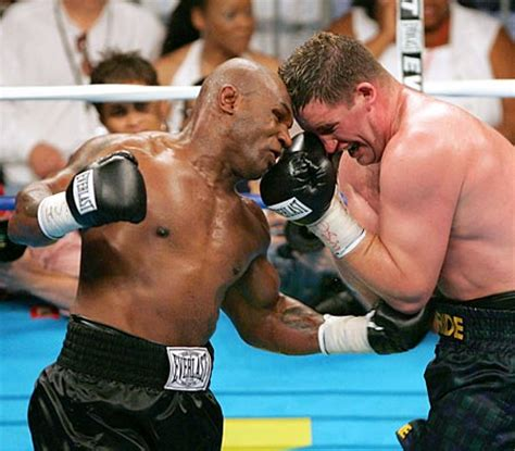 Boxer Mike Hello mike tyson evander holyfield boxing rematch is it in the
