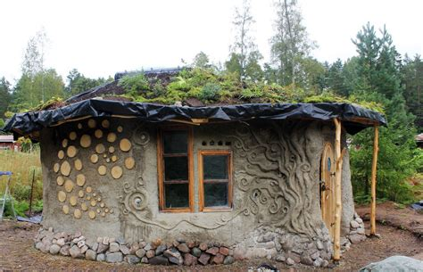 cob cordwood cottage in finland by heidi vilkman