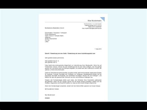Initiativbewerbung Anschreiben Tierarzt bewerbungsschreiben in word erstellen professionelles