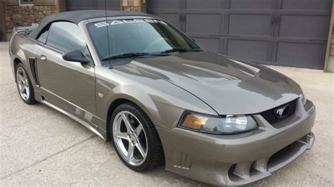 2002 ford mustang convertible for sale 2002 ford mustang saleen convertible for sale