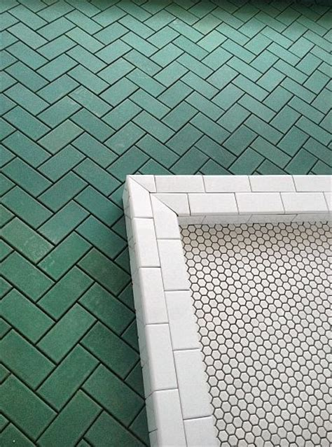 Bathroom Tile Ideas Black And White 44 best color spotlight dark green tile images on