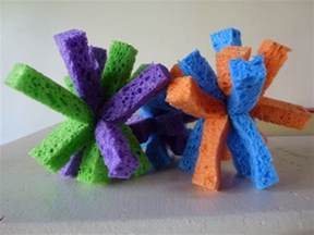 home made toys choices for children water sponge balls