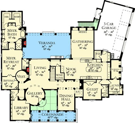 spanish floor plans spanish houses floor plans home design and style