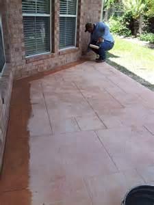 concrete patio contractors concrete sted patio contractor