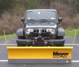 Plow Jeep Smith Brothers Services Jeep Wrangler Meyer Drive Pro