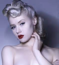 haircolor for forties anys 40 on pinterest 1940s hair 1940s hairstyles and 1940s