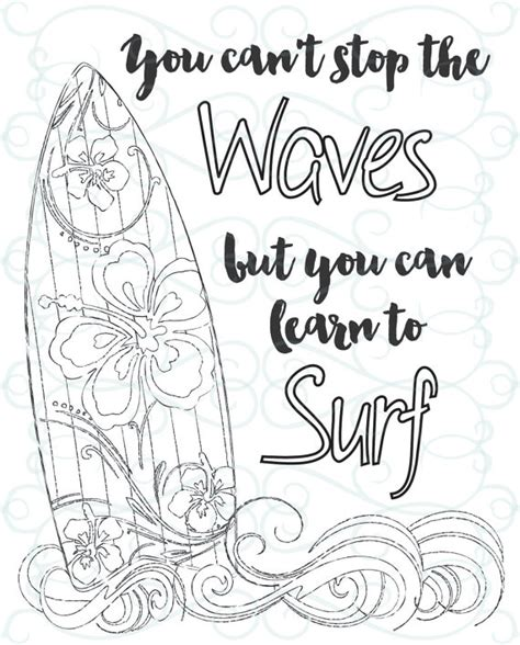 coloring book 30 inspirational coloring pages motivational quotes and phrases stress relieving relaxing coloring book for adults with sayings inspiring coloring books for adults books inspirational coloring page printable 03 learn to surf