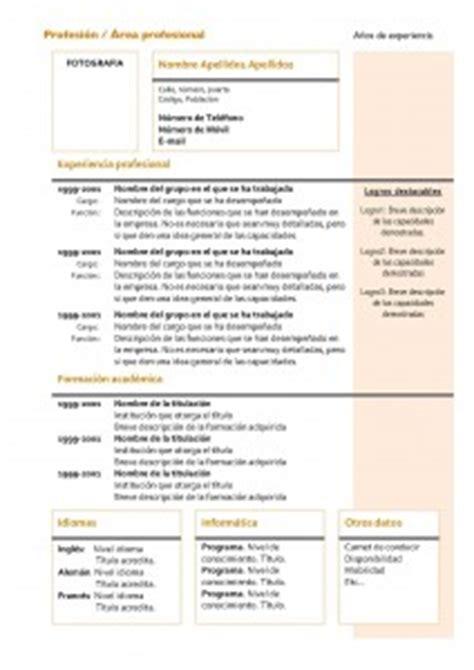 Modelo Curriculum Vitae Formacion Academica C 243 Mo Hace Un Curr 237 Culum Vitae Y Plantillas O Moldes Para Descargar