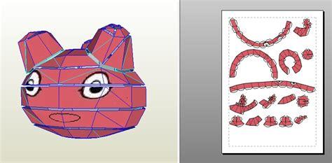 Digimon Papercraft - digimon punimon papertoy