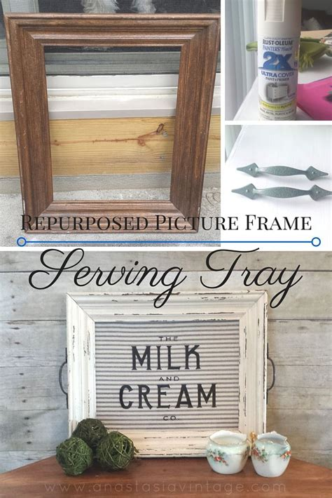 decor picture frame upcycle repurpose crafts home decor 1000 ideas about frame tray on pinterest picture frame