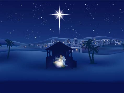 Star of Bethlehem was bright star that showed Magi the way to Baby ... Buna Vestire 2017