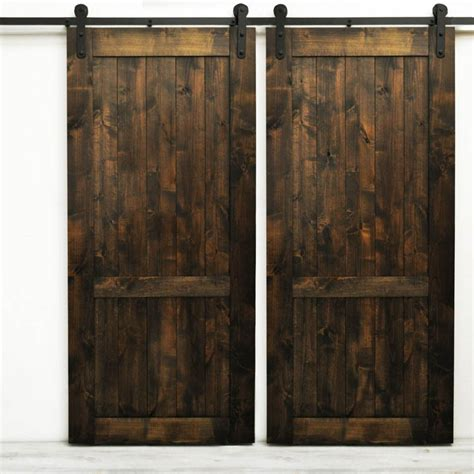barn door kit winsoon 6 16ft modern barn door hardware sliding track kit sliders interior new ebay