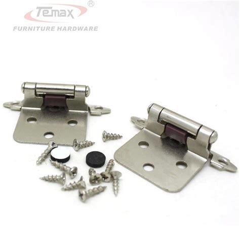 new 1 pair satin nickel flush type self close cabinet 1 pair satin nickel flush type self close cabinet hinge