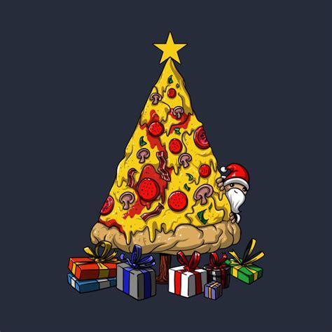 pizza christmas tree funny party pizza christmas tree