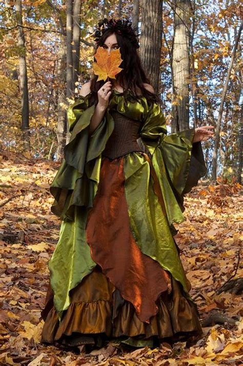 renaissance medieval fall faerie woodland autumn fairy
