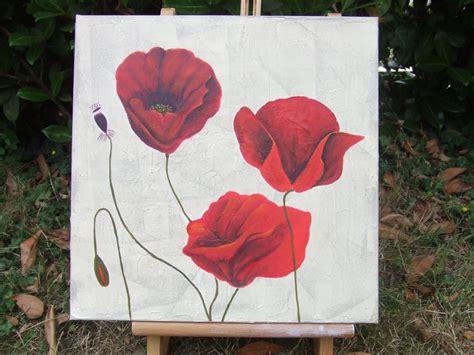 Modele De Coquelicot A Peindre