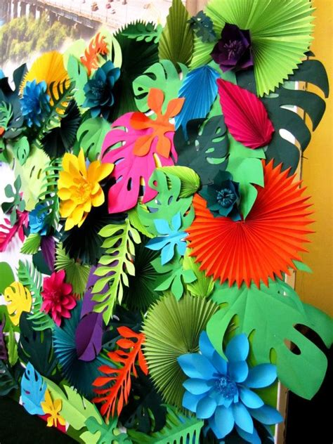 tropical decoration tropical party decorations hawaiian party decor