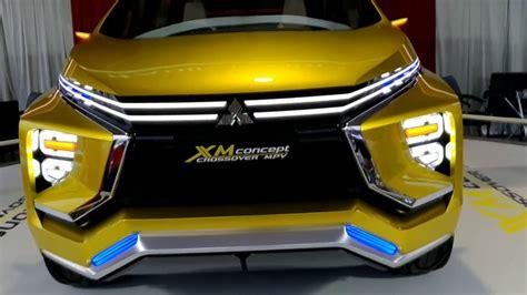 new mitsubishi mpv 2017 new mitsubishi xm concept crossover mpv penantang