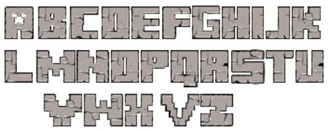 free printable minecraft alphabet letters 14097 minecraft alfabet photo in jasonfran minecraft