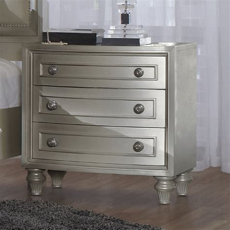 Nightstand Table Ls Silver Nightstand Ls Alcott Mirror Nightstand End Table