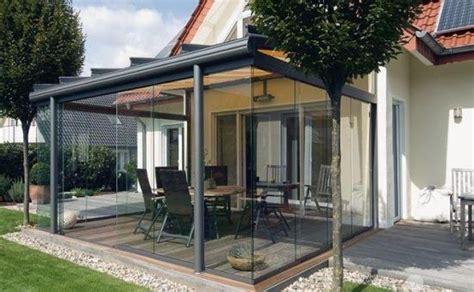 veranda ums haus terrassenglasdach alu veranda verglasung 220 berdachung