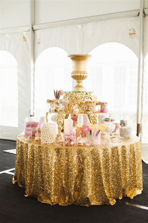 conversion table salted caramels glitter and tables 25 best ideas about gold candy buffet on pinterest gold